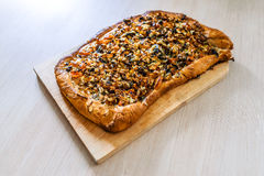 Vegetable pizza Royalty Free Stock Images
