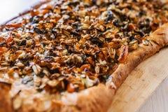 Vegetable pizza Stock Photos