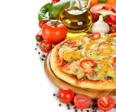 Vegetable pizza Royalty Free Stock Image
