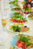 Vegetable Plate Stock Photography