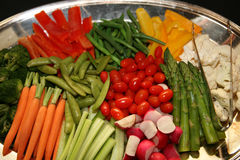 Vegetable Platter Stock Photography