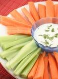 Vegetable platter Stock Photo