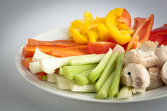 Vegetable platter Stock Photo