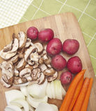 Vegetable Preparation Royalty Free Stock Images