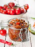Vegetable preserve Royalty Free Stock Photos