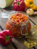 Vegetable preserve Royalty Free Stock Photo