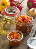 Vegetable preserve Stock Photo