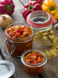 Vegetable preserve Stock Photos