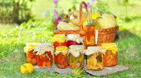 Vegetable preserves Royalty Free Stock Image