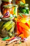 Vegetable preserves Stock Photo