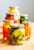 Vegetable preserves Royalty Free Stock Photography