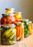Vegetable preserves Royalty Free Stock Photos