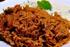 Vegetable Pulao Stock Images