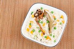 Vegetable Pulao Стоковая Фотография RF