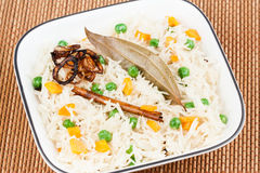 Vegetable Pulao Stock Photo