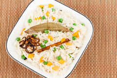 Vegetable Pulao Royalty Free Stock Photos