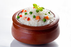 Vegetable Pulav or Pilaf Royalty Free Stock Photo