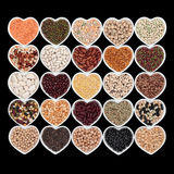 Vegetable Pulses Selection Stock Images