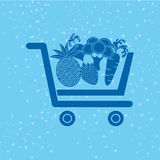 Vegetable purchasing design. Illustration eps10 graphic Stock Photography