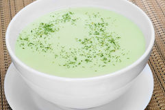 Vegetable puree Royalty Free Stock Image