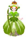 Vegetable Queen Stock Image