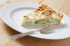 Vegetable quiche Royalty Free Stock Photography