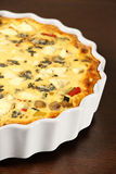 Vegetable quiche Stock Photography