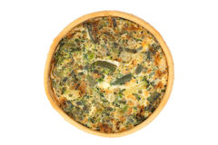 Vegetable quiche Stock Photos