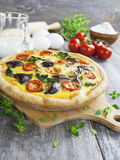 Vegetable quiche Royalty Free Stock Photo