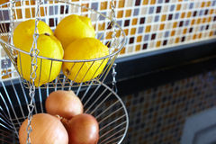 Vegetable rack Royalty Free Stock Photography