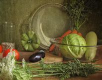 Vegetable ragout Stock Photos