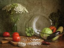 Vegetable ragout Royalty Free Stock Images