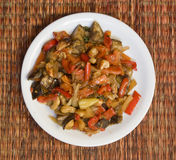 Vegetable ragout Stock Image