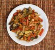Vegetable ragout Stock Image