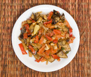 Vegetable ragout Stock Photography