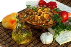 Vegetable ragout Royalty Free Stock Photo