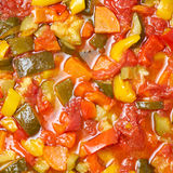 Vegetable ragout Stock Photo