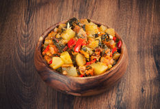Vegetable Ragout Royalty Free Stock Photo
