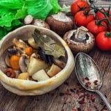 Vegetable ragu Stock Images