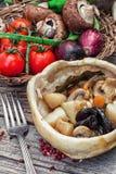 Vegetable ragu Stock Image