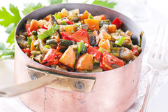 Vegetable Ratatouille Stock Images
