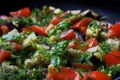Vegetable Ratatouille Stock Photo