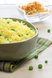 Vegetable rice - Indian style, Basmati Royalty Free Stock Photo