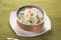Vegetable Rice Stock Image