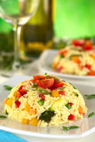 Vegetable Risotto Stock Image