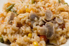 Vegetable risotto Royalty Free Stock Photos
