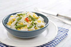 Vegetable risotto Stock Photo