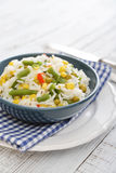 Vegetable risotto Stock Images