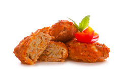 Vegetable rissole Royalty Free Stock Photography