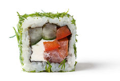 A vegetable roll with a lettuce Royalty Free Stock Photo
